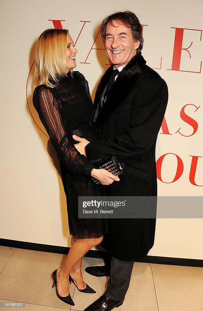 Malin Jefferies (L) and Tim Jefferies attend a private view of 'Valentino: Master Of Couture', exhibiting from November 29th, 2012 - March 3, 2013, at Somerset House on November 28, 2012 in London, England.