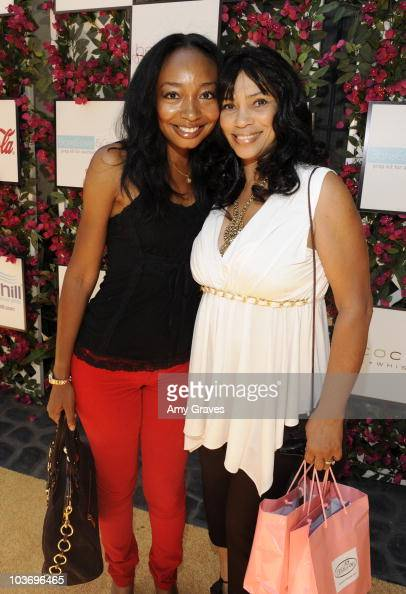 Malina Moye and Van Jewel attend the BellaStyle Garden Event on August 27 2010 in Los Angeles California