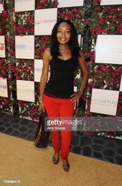 Malina Moye attends the BellaStyle Garden Event on August 27 2010 in Los Angeles California
