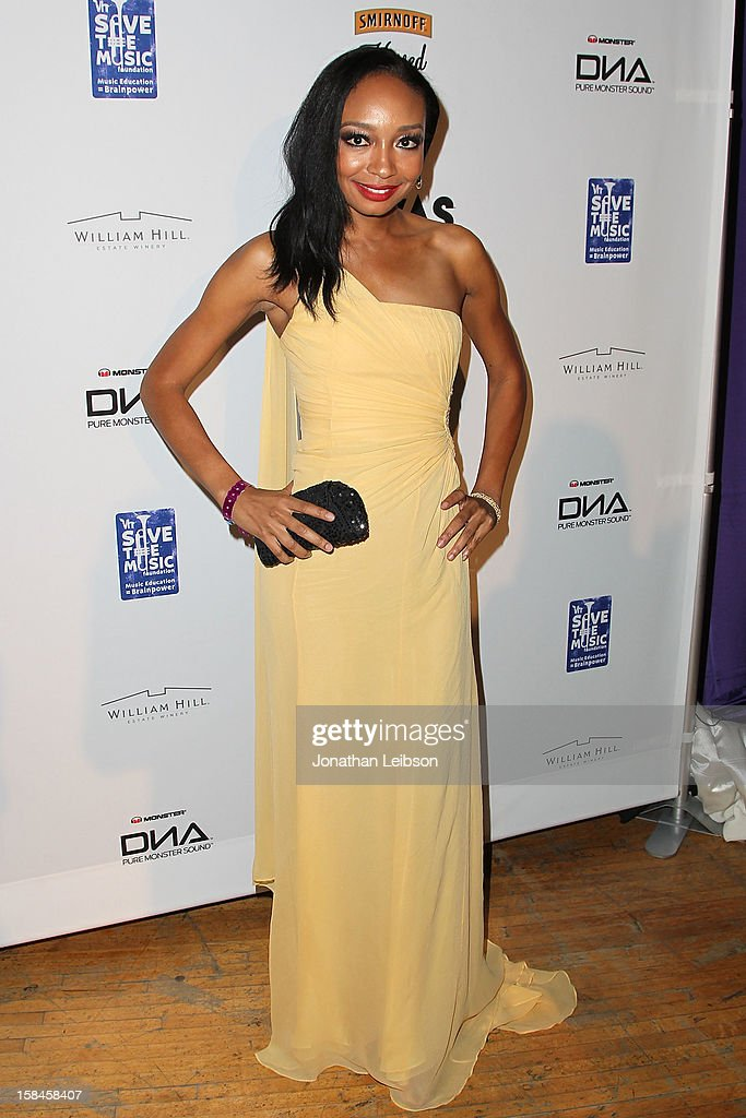 Malina Moye attends the VH1 Divas After Party To Benefit The VH1 Save The Music Foundation at The Shrine Auditorium on December 16, 2012 in Los Angeles, California.