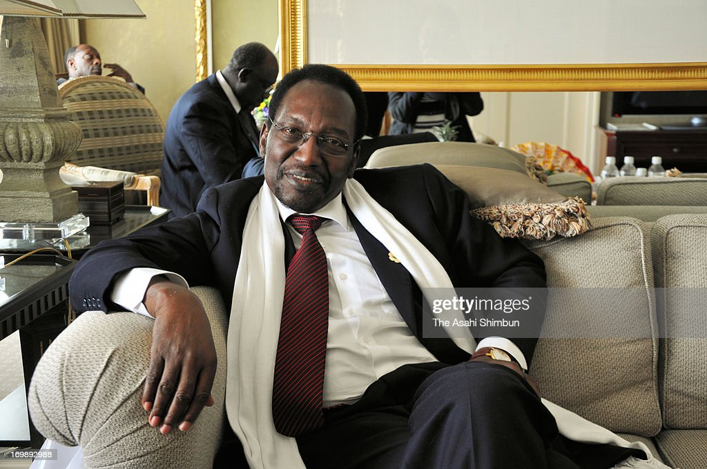 Mali's interim president <a gi-track='captionPersonalityLinkClicked' href=/galleries/search?phrase=Dioncounda+Traore&family=editorial&specificpeople=9117926 ng-click='$event.stopPropagation()'>Dioncounda Traore</a> speaks in the Asahi Shimbun interview during the three-day TICAD (Tokyo International Conference on African Development) on June 3, 2013 in Yokohama, Kanagawa, Japan. Abe pledges 3.2 trillion yen for Africa at conference start.