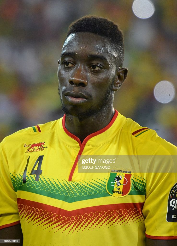 Mali's midfielder <a gi-track='captionPersonalityLinkClicked' href=/galleries/search?phrase=Sambou+Yatabare&family=editorial&specificpeople=5747366 ng-click='$event.stopPropagation()'>Sambou Yatabare</a> poses ahead of the 2015 African Cup of Nations group D football match between Mali and Cameroon in Malabo on January 20, 2015.