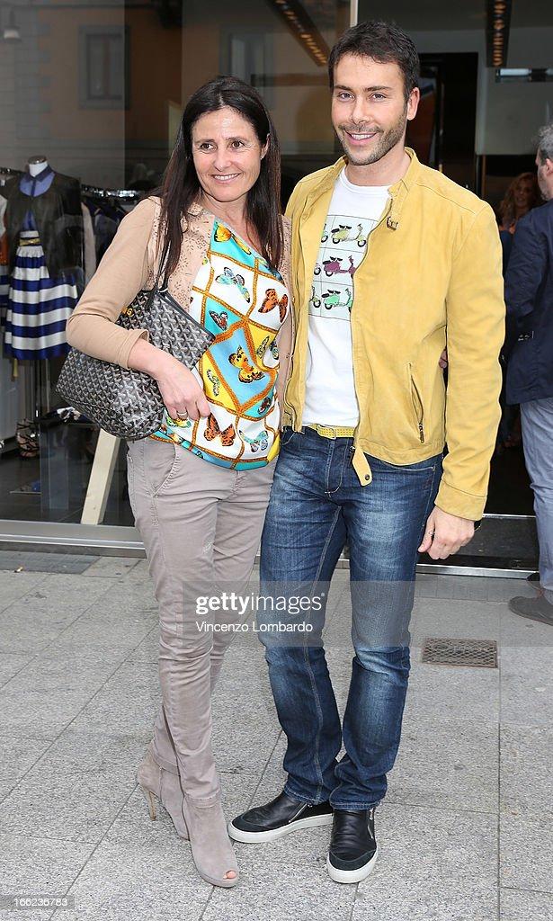 Malita Rebecchi and Giacomo Urtis attend Oggetti Smarriti di Gumdesign - 2013 Milan Design Week on April 10, 2013 in Milan, Italy.