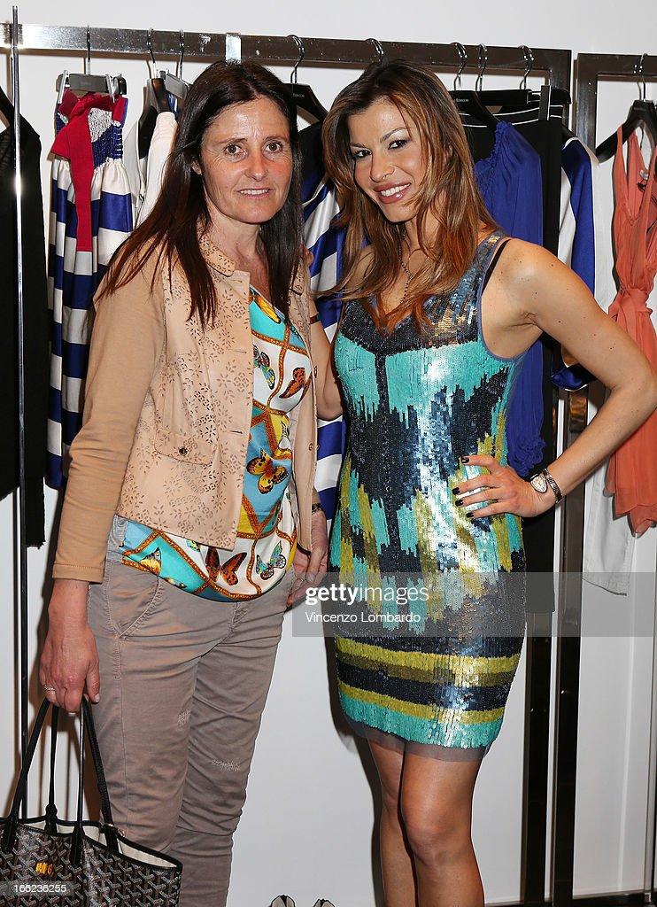 Malita Rebecchi and Susanna Petrone attend Oggetti Smarriti di Gumdesign - 2013 Milan Design Week on April 10, 2013 in Milan, Italy.