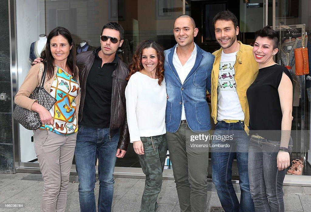 Malita Rebecchi, guests and Giacomo Urtis attend Oggetti Smarriti di Gumdesign - 2013 Milan Design Week on April 10, 2013 in Milan, Italy.