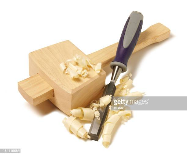 Mallet and Wood Shavings