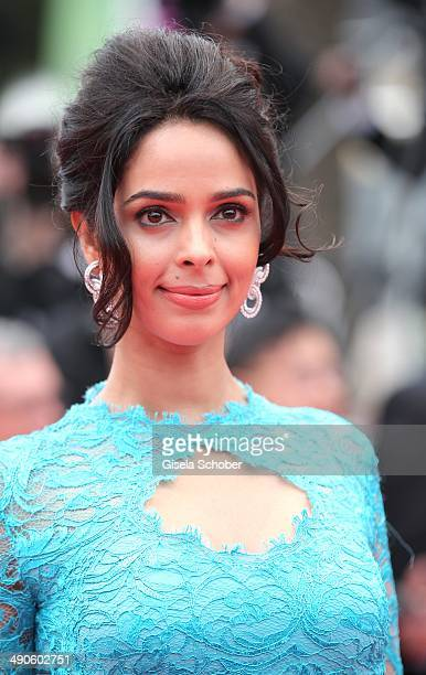 Mallika Sherawa attends the Opening ceremony and the 'Grace of Monaco' Premiere during the 67th Annual Cannes Film Festival on May 14 2014 in Cannes...