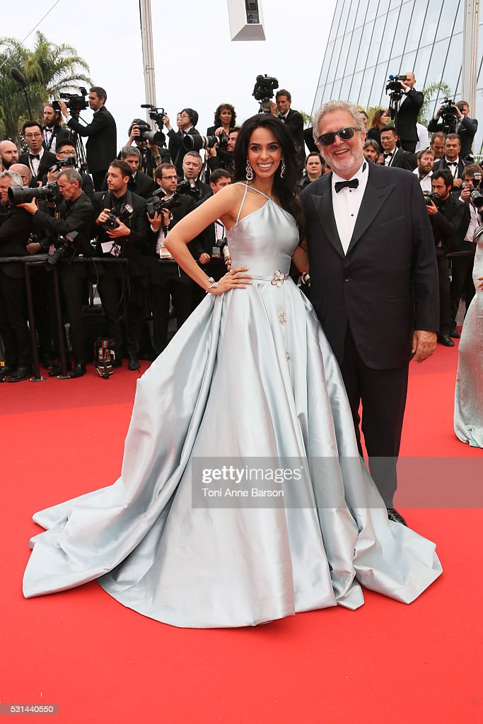 <a gi-track='captionPersonalityLinkClicked' href=/galleries/search?phrase=Mallika+Sherawat&family=editorial&specificpeople=233692 ng-click='$event.stopPropagation()'>Mallika Sherawat</a> and <a gi-track='captionPersonalityLinkClicked' href=/galleries/search?phrase=Martin+Moszkowicz&family=editorial&specificpeople=3273455 ng-click='$event.stopPropagation()'>Martin Moszkowicz</a> attend a screening of 'The BFG' at the annual 69th Cannes Film Festival at Palais des Festivals on May 14, 2016 in Cannes, France.