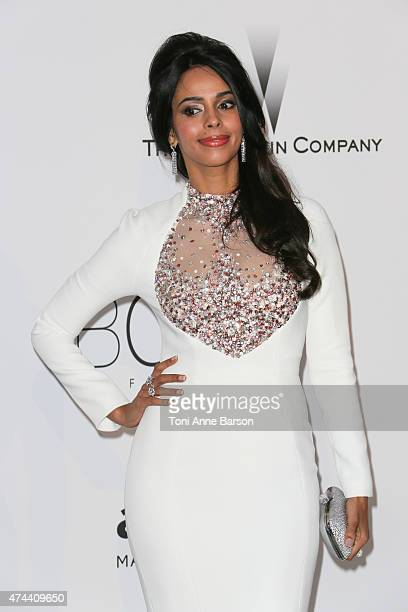 Mallika Sherawat attends amfAR's 22nd Cinema Against AIDS Gala Presented By Bold Films And Harry Winston at Hotel du CapEdenRoc on May 21 2015 in Cap...