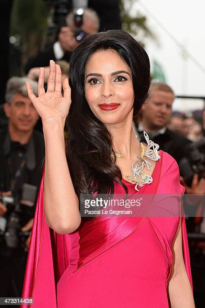 Mallika Sherawat attends Premiere of 'Mad Max Fury Road' during the 68th annual Cannes Film Festival on May 14 2015 in Cannes France