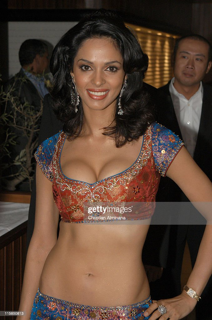 <a gi-track='captionPersonalityLinkClicked' href=/galleries/search?phrase=Mallika+Sherawat&family=editorial&specificpeople=233692 ng-click='$event.stopPropagation()'>Mallika Sherawat</a> during 2005 Cannes Film Festival - 'The Myth' Party at Majestic Beach in Cannes, France.