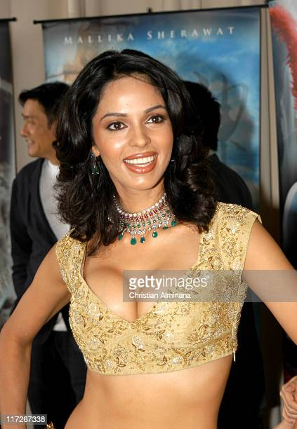 Mallika Sherawat during 2005 Cannes Film Festival The Myth Photocall at Majestic Hotel in Cannes France