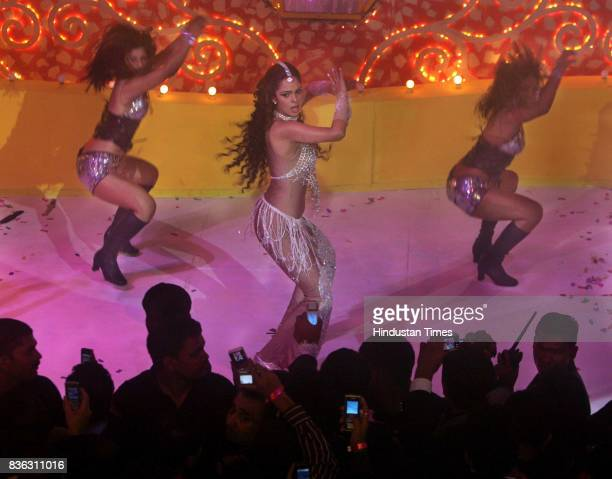 Mallika Sherawat during New Year Celebrations at JW Marriott Party