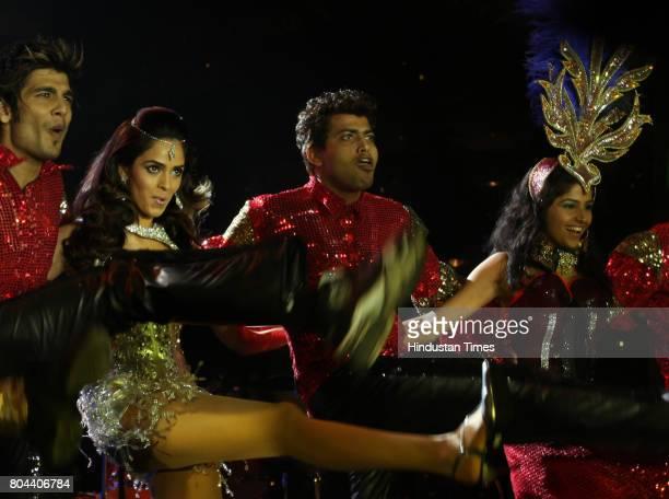 Mallika Sherawat New Year Party at Hotel Sahara Star