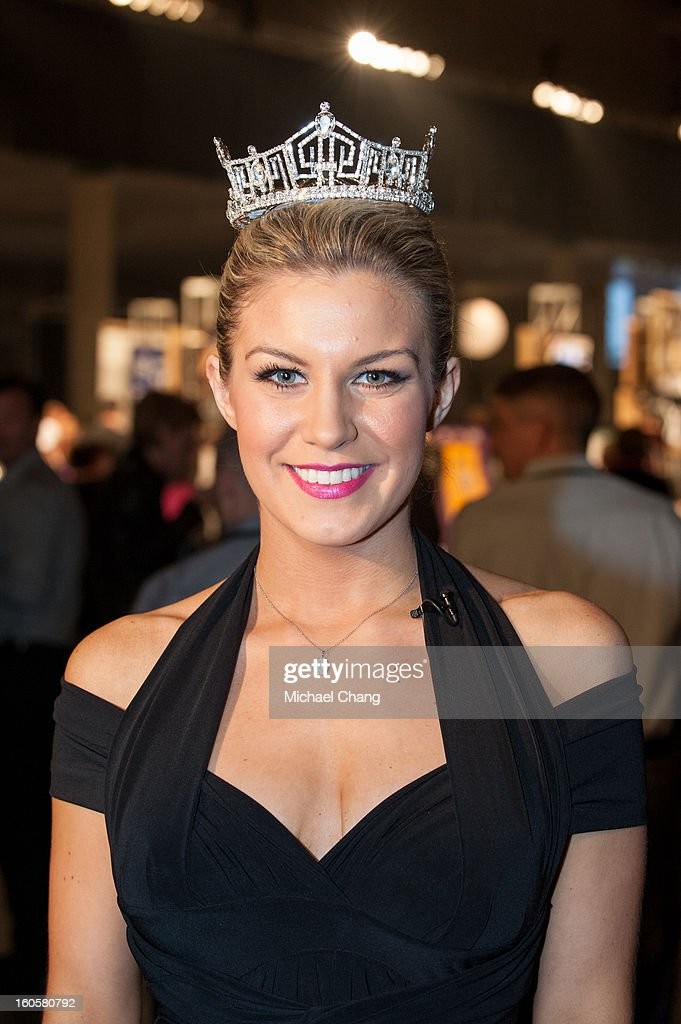Mallory Hagan attends the 2013 Taste of the NFL at the Ernest N. Morial Convention Center on February 2, 2013 in New Orleans, Louisiana.