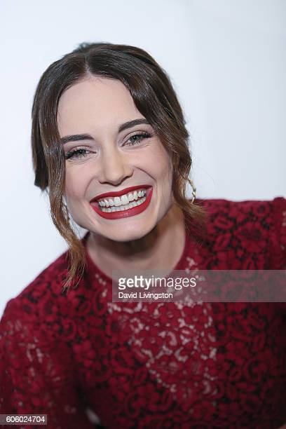 Mallory Jansen arrives at Audi Celebrates The 68th Emmys at Catch on September 15 2016 in West Hollywood California