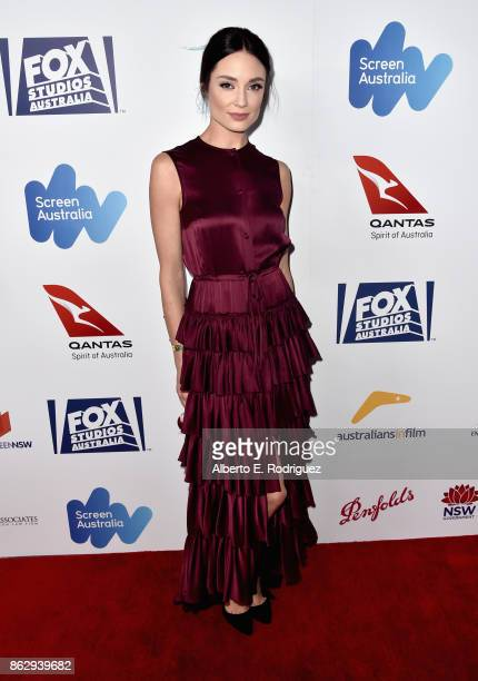 Mallory Jansen attends the 6th Annual Australians in Film Award Benefit Dinner at NeueHouse Hollywood on October 18 2017 in Los Angeles California