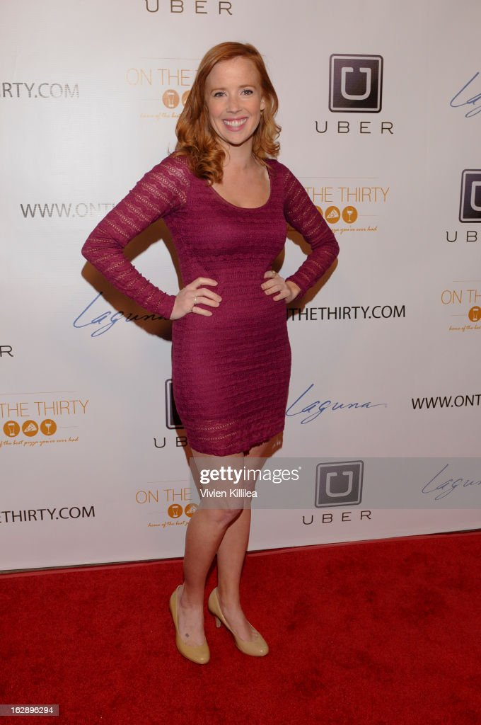 Mallory Moye attends 'On The Thirty' Grand Opening at On The Thirty on February 28, 2013 in Sherman Oaks, California.