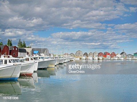Malpeque harbour, Prince Edward Island, Canada