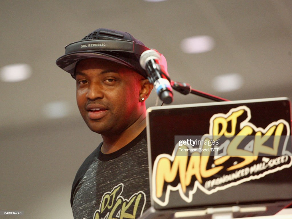 DJ Mal-Ski performs at the Coke music studio during the 2016 BET Experience on June 25, 2016 in Los Angeles, California.