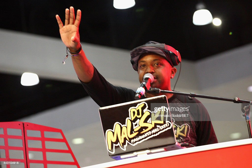 DJ Malski performs at the Coke music studio during the 2016 BET Experience on June 25, 2016 in Los Angeles, California.
