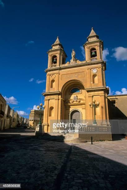 Malta Fishing Village Of Marsaxlokk Church