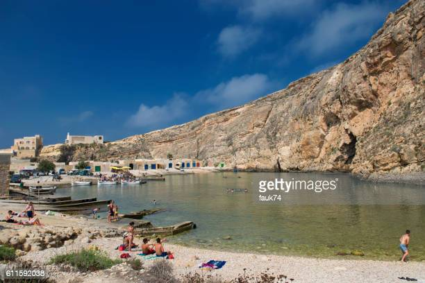 Malta, Gozo. Inland Sea