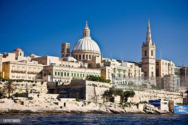 Malta Harbor Valetta