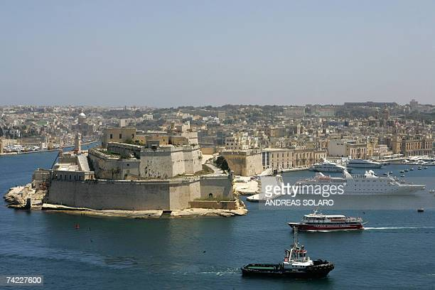 Picture taken 10 May 2007 of Valletta's Grand Harbour in Malta AFP PHOTO / ANDREAS SOLARO