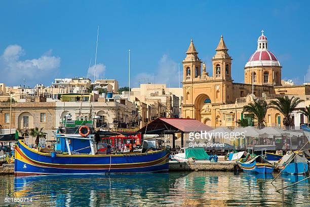 Malta, Marsaxlokk Harbor