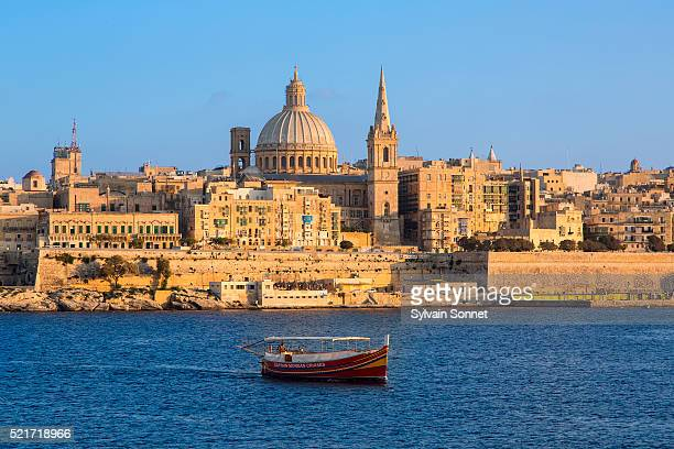 Malta, Valletta at Sunset