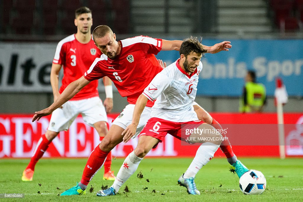 FBL-EURO-2016-AUT-MLT-FRIENDLY : News Photo
