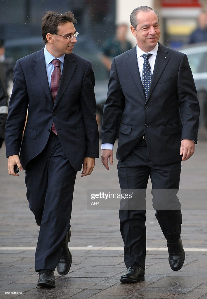 Maltese Prime Minister Lawrence Gonzi arrives at the prsidential palace for a meeting with the Maltese President the day after the centreleft...