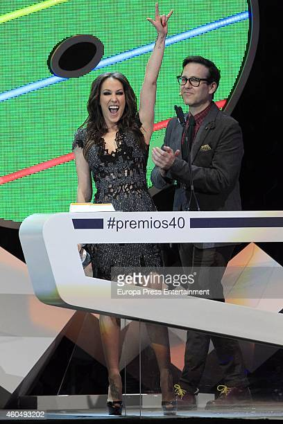 Malu attends the '40 Principales' awards 2014 ceremony on December 12 2014 in Madrid Spain