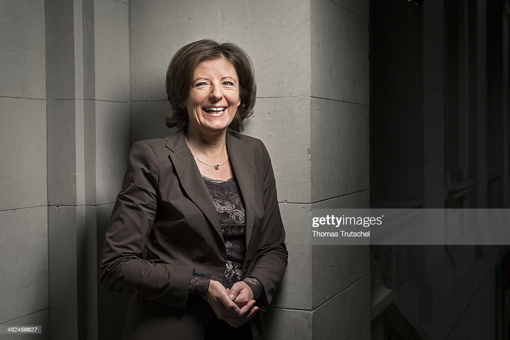 Malu Dreyer, SPD Minister-President of the state of Rhineland-Palatinate and leader of the Social Democratic Party in North Rhine-Westphalia, poses during a Portrait Session at Bundesrat on November 29, 2013 in Berlin, Germany.