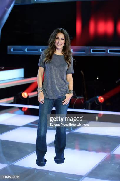 Malu during 'La Voz' 5th Edition and 'La Voz Kids' 4th Edition Presentation on July 19 2017 in Madrid Spain