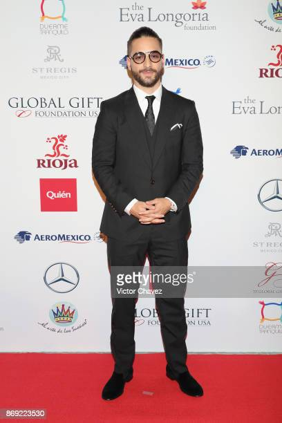 Maluma attends The Global Gift Gala Mexico 2017 at St Regis Hotel on November 1 2017 in Mexico City Mexico