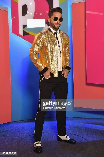 Maluma attends the Univision's 'Premios Juventud' 2017 Celebrates The Hottest Musical Artists And Young Latinos ChangeMakers at Watsco Center on July...