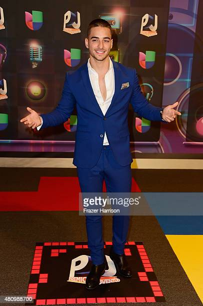 Maluma attends Univision's Premios Juventud 2015 at Bank United Center on July 16 2015 in Miami Florida