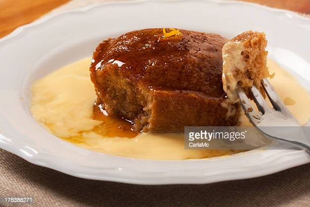 Malva pudding und Creme