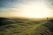 Malvern Hills, Worcestershire, England, UK