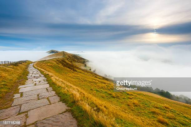 Mam Tor Temperature Inversion, Peak District National Park
