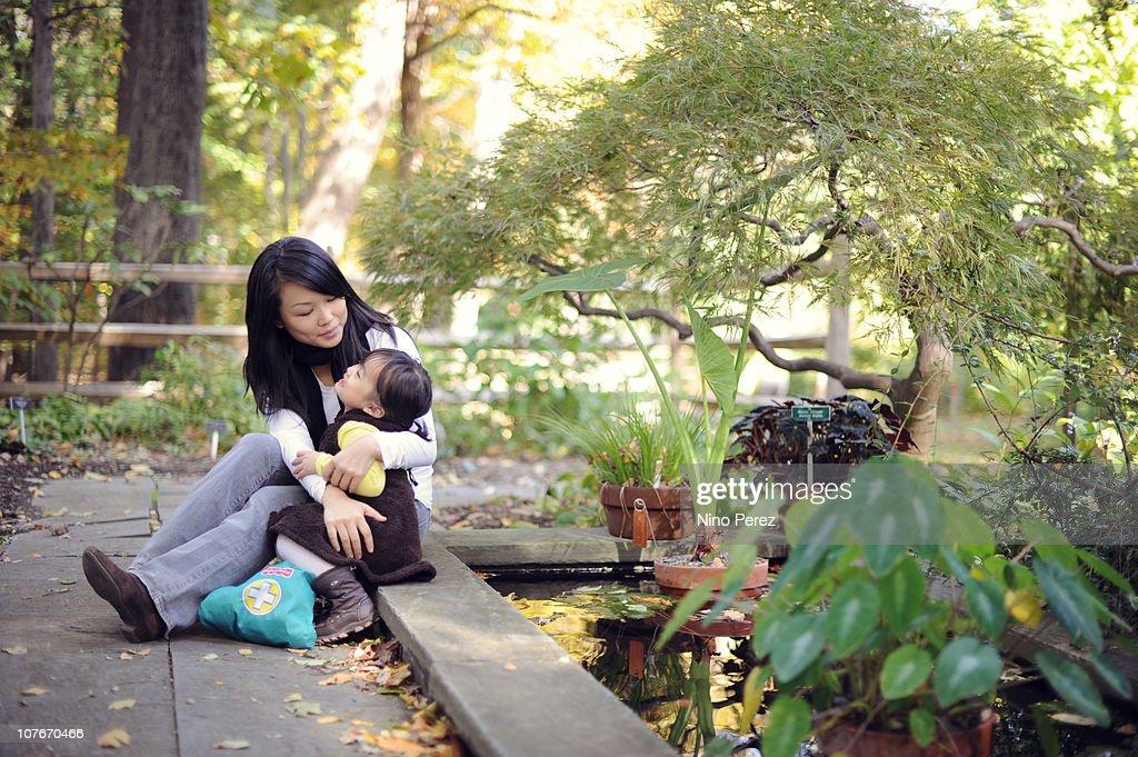 Mama and Baby : Stock Photo