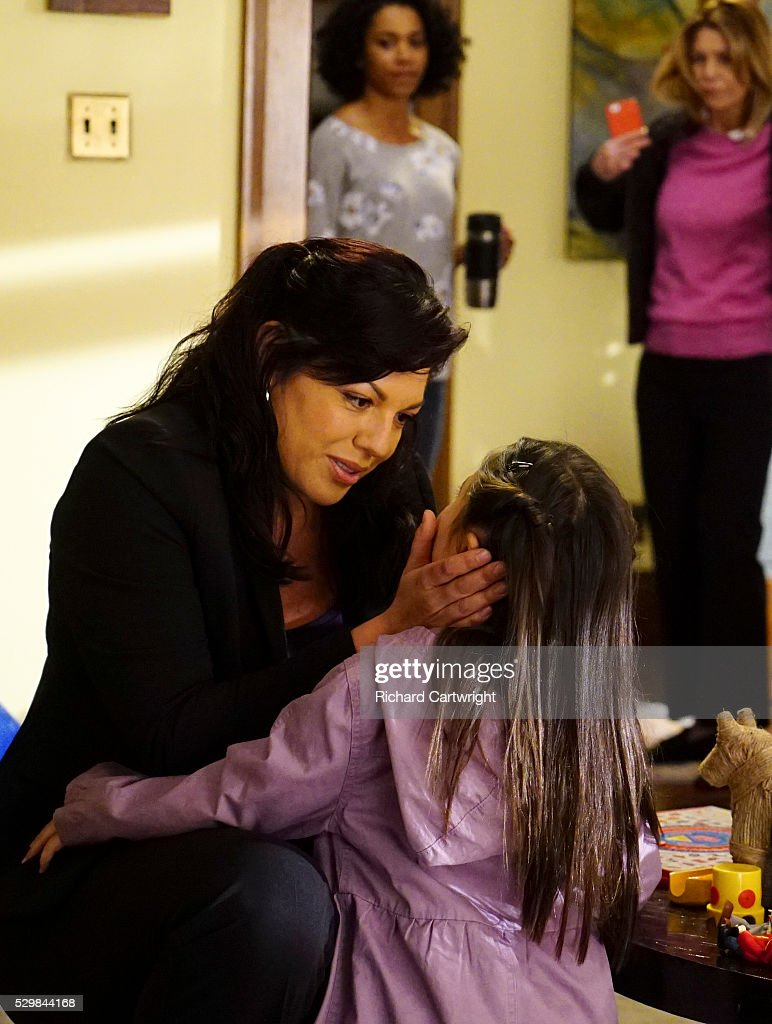 S ANATOMY - 'Mama Tried' - Callie and Arizona are at odds over Sofia's future, and Stephanie questions the status of her relationship with Kyle. Meanwhile, Alex and April work on a pregnant teen that is readmitted to Grey Sloan Memorial, on 'Grey's Anatomy,' THURSDAY, MAY 5 (8:00-9:00 p.m. EDT), on the ABC Television Network. SARA