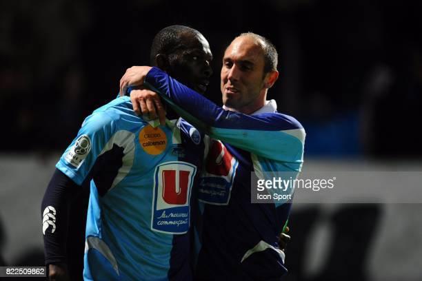 Mamadou DIALLO / Jean Michel LESAGE Le Havre / Nantes 13eme journee de Ligue 2 Stade Municipal Jules Deschaseaux