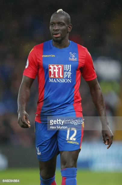Mamadou Sakho of Crystal Palace during the Premier League match between Crystal Palace and Middlesbrough at Selhurst Park on February 25 2017 in...