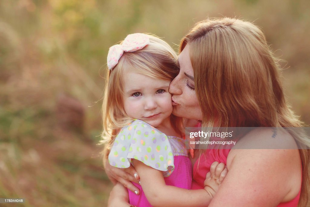 Mama's girl : Stock Photo