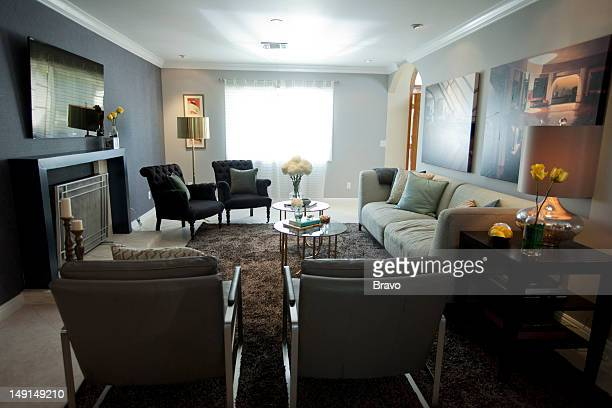 LEWIS 'Mama's House' Episode 107 Pictured Living room after renovation
