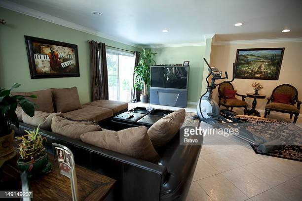 LEWIS 'Mama's House' Episode 107 Pictured Living room before renovation