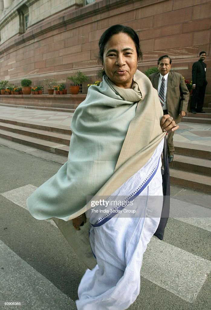 <a gi-track='captionPersonalityLinkClicked' href=/galleries/search?phrase=Mamata+Banerjee&family=editorial&specificpeople=585449 ng-click='$event.stopPropagation()'>Mamata Banerjee</a> at the parliament house in New Delhi.